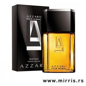 Crna kutija i bočica parfema Azzaro Pour Homme