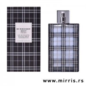 Boca parfema Burberry Brit For Men pored originalne kutije