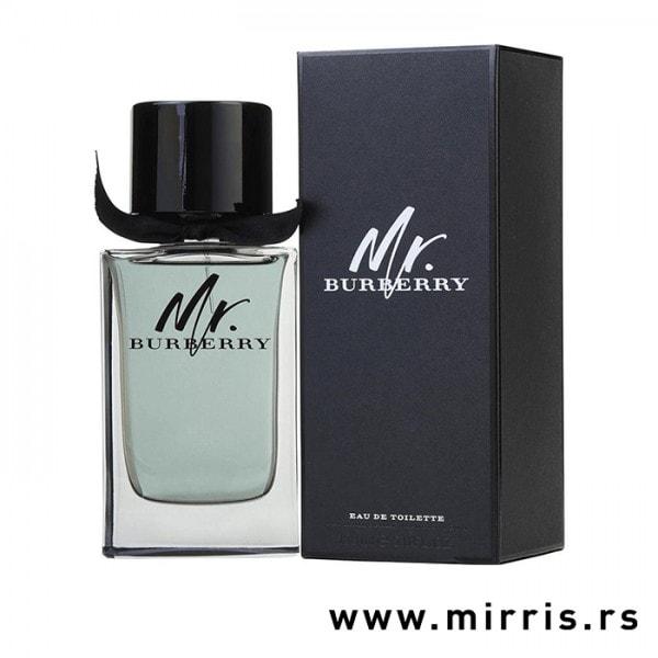 Flašica originalnog mirisa Burberry Mr. Burberry i crna kutija