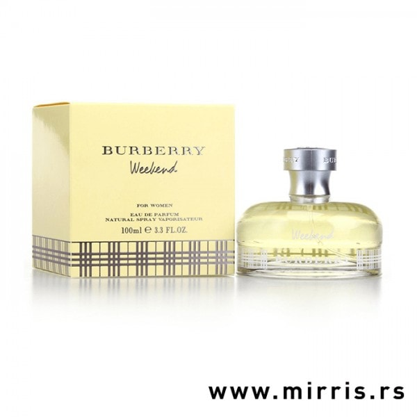 Boca parfema Burberry Weekend For Women pored kutije