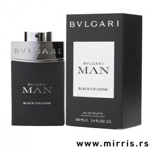 Bočica parfema Bvlgari Man Black Cologne i crna kutija