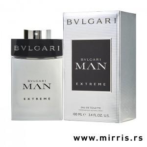 Boca parfema Bvlgari Man Extreme i njegova originalna kutija