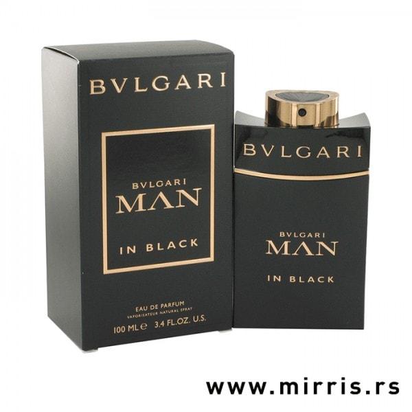 Boca originalnog mirisa Bvlgari Man In Black i kutija crne boje