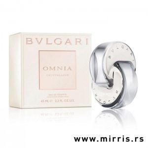 Bočica originalnog parfema Bvlgari Omnia Crystalline i njegova kutija