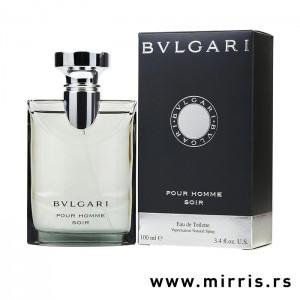 Boca parfema Bvlgari Pour Homme Soir pored kutije