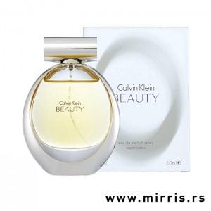 Boca originalnog mirisa Calvin Klein Beauty pored bele kutije