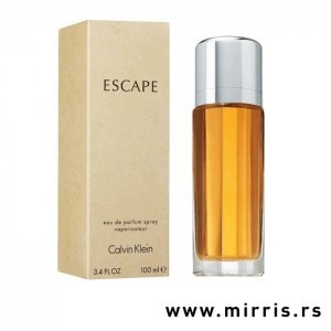 Boca parfema Calvin Klein Escape pored originalne kutije