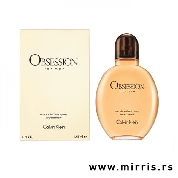 Bočica parfema Calvin Klein Obsession For Men i originalna kutija