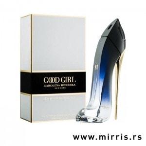 Bočica parfema Carolina Herrera Good Girl Legere u obliku štikle i originalna kutija