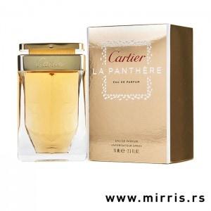 Bočica originalnog parfem Cartier La Panthere pord kutije