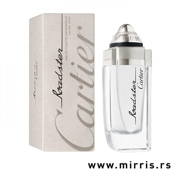 Originalna kutija i bočica parfema Cartier Roadster