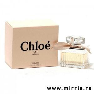 Originalna bočica mirisa Chloe Eau De Parfum pored kutije