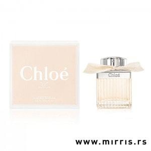 Roze bočica mirisa Chloe Fleur De Parfumpored originalne roze kutije
