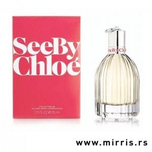 Bočica originalnog mirisa Chloe See By Chloe i crvena kutija