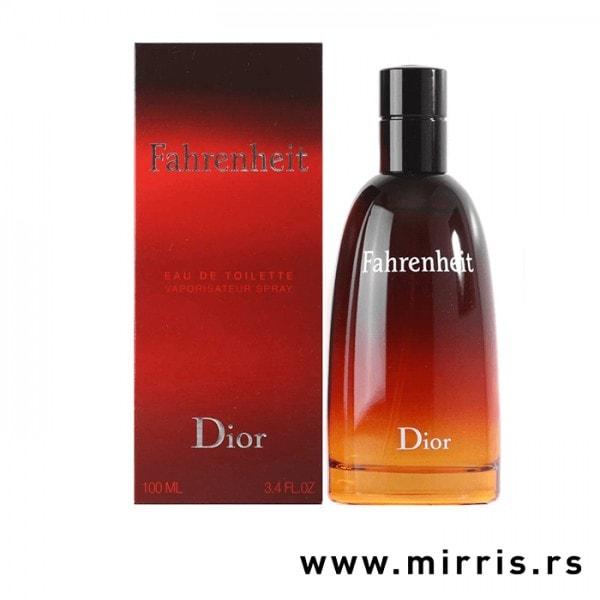 Boca parfema Christian Dior Fahrenheit pored originalne kutije