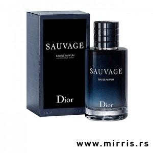 Bočica mirisa Christian Dior Sauvage EDP i originalna kutija
