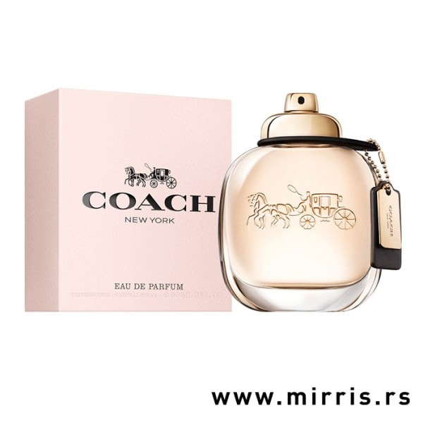 Boca parfema Coach The Fragrance pored roze kutije