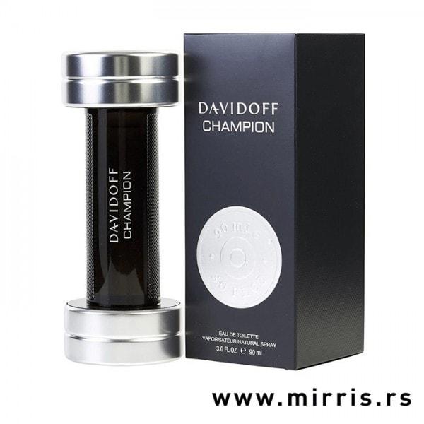 Boca parfema Davidoff Champion u obliku tega i crna kutija