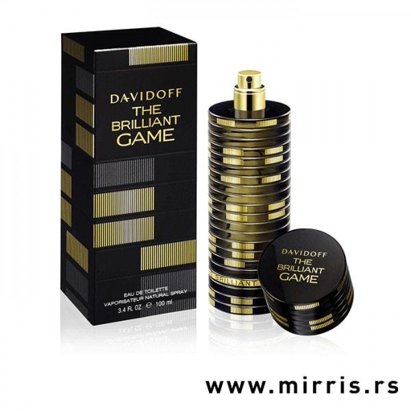 Boca parfema Davidoff The Brilliant Game pored originalne kutije