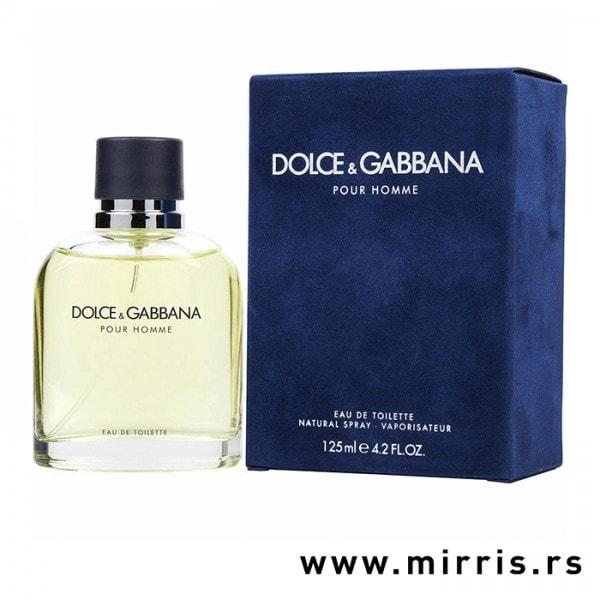 Boca parfema Dolce & Gabbana Pour Homme i plava kutija