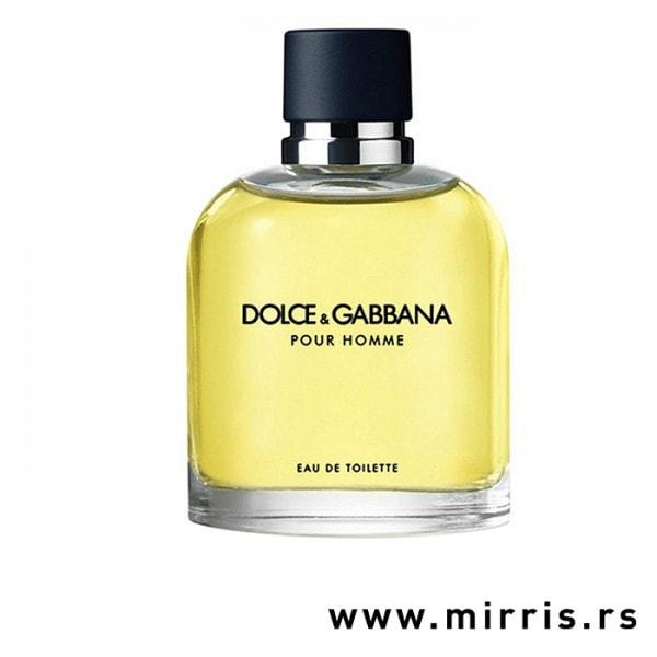 Boca testera Dolce & Gabbana Pour Homme žute boje