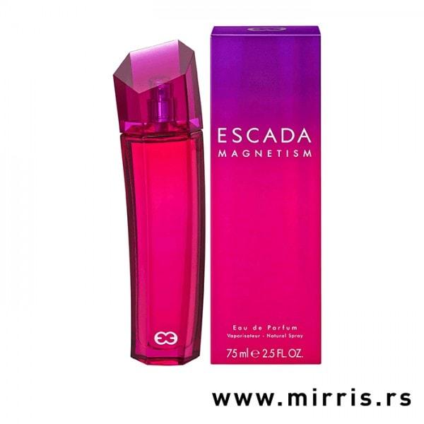 Boca parfema Escada Magnetism pored originalne kutije