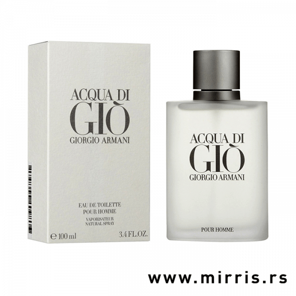 Bočica originalnog mirisa Giorgio Armani Acqua Di Gio i bela kutija