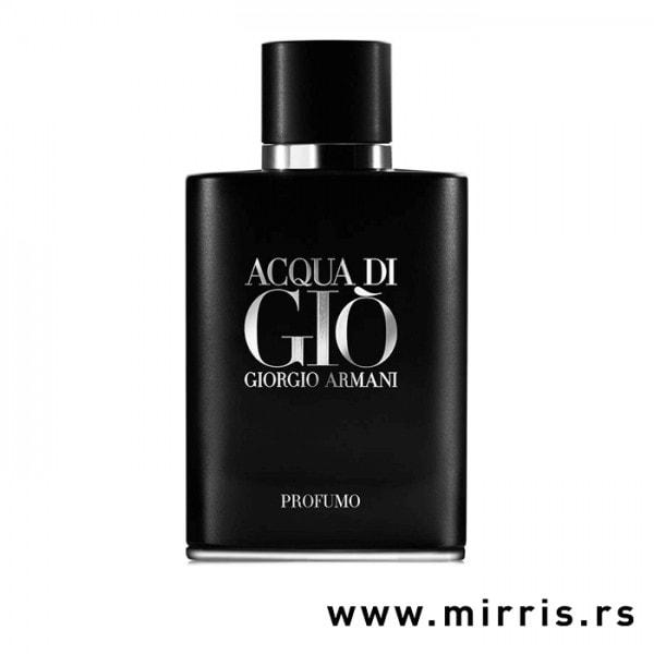 Crna bočica testera Giorgio Armani Acqua Di Gio Profumo