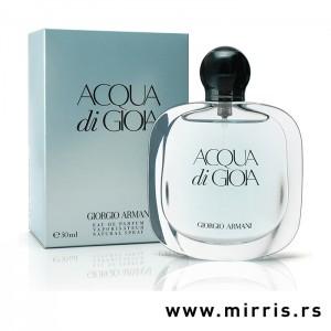 Boca originalnog parfema Giorgio Armani Acqua Di Gioia i njegova kutija