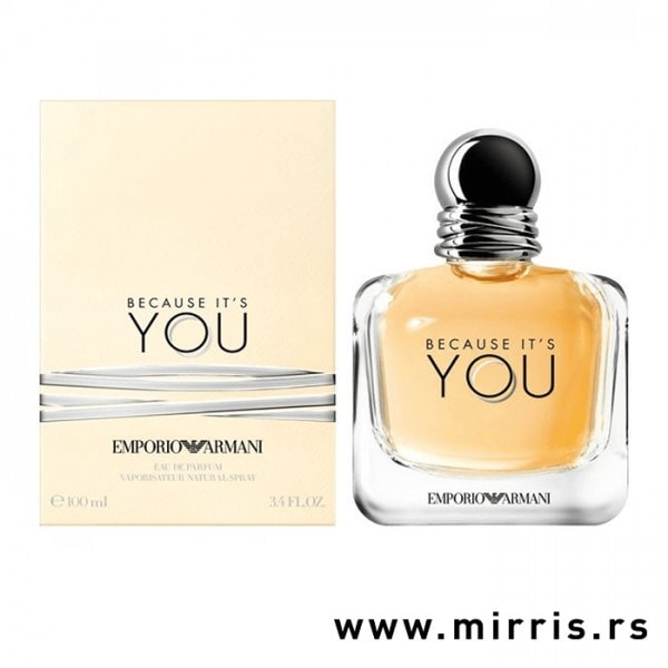 Boca parfema Giorgio Armani Because It's You pored originalne kutije