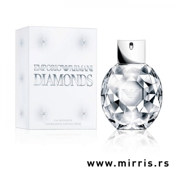Bočica parfema Giorgio Armani Diamonds i originalna kutija