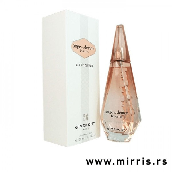 Boca originalnog parfema Givenchy Ange Ou Demon Le Secret i bela kutija