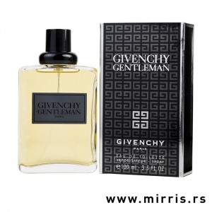 Boca originalnog mirisa Givenchy Gentleman i crna kutija