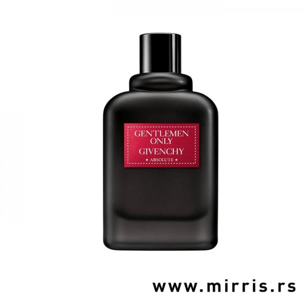 Bočica testera Givenchy Gentleman Only Absolute crne boje