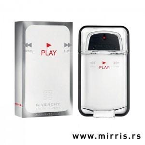 Bela kutija i bočica originalnog parfema Givenchy Play Pour Homme
