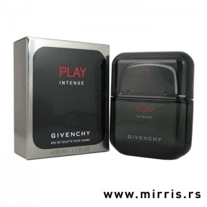 Boca parfema Givenchy Play Pour Homme Intense pored originalne kutije