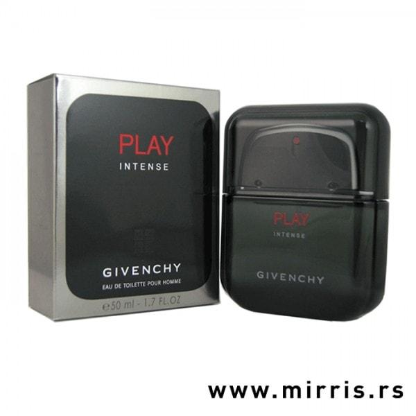 Boca parfema Givenchy Play Pour Homme Intense pored originalne kutije
