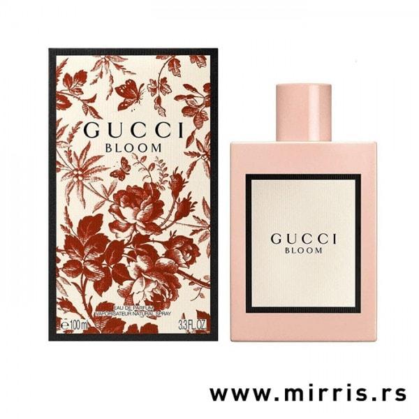 Originalni parfem Gucci Bloom pored kutije