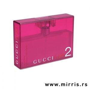 Ljubičasta boca originalnog parfema Gucci Rush 2