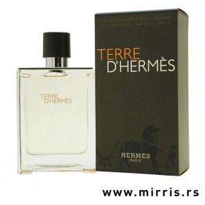 Boca parfema Hermes Terre d´Hermes pored originalne kutije