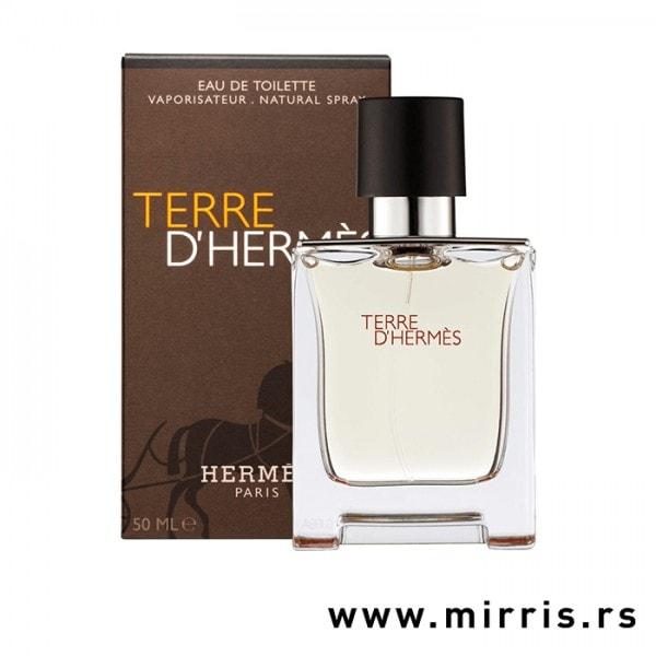 Originalna kutija i bočica parfemaHermes Terre d´Hermes