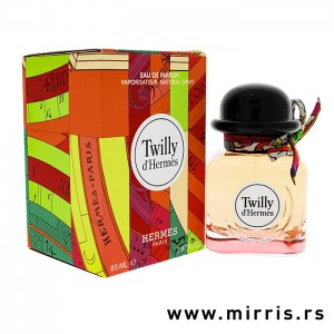 Boca parfema Hermes Twilly pored originalne kutije