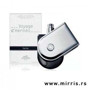 Originalni parfem Hermes Voyage pored bele kutije