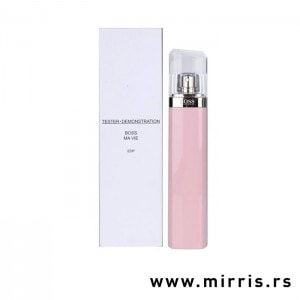 Roze bca testera Hugo Boss Ma Vie Pour Femme i kutija bele boje