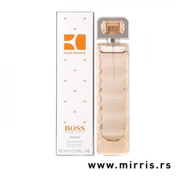 Bočica originalnog parfema Hugo Boss Orange i njegova kutija