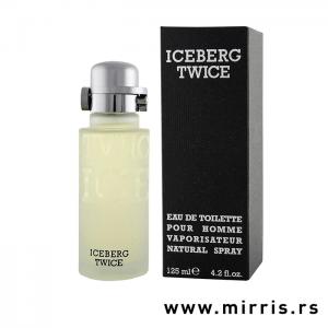 Flašica originalnog mirisa Iceberg Twice Pour Homme i crna kutija