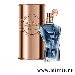 Boca parfema Jean Paul Gaultier Le Male Essence de Parfum pored originalne kutije