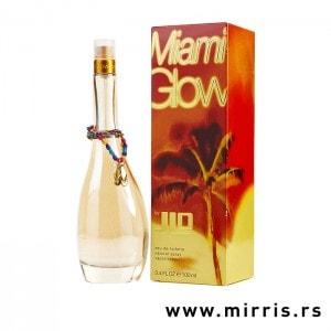 Originalni parfem Jennifer Lopez Miami Glow pored kutije