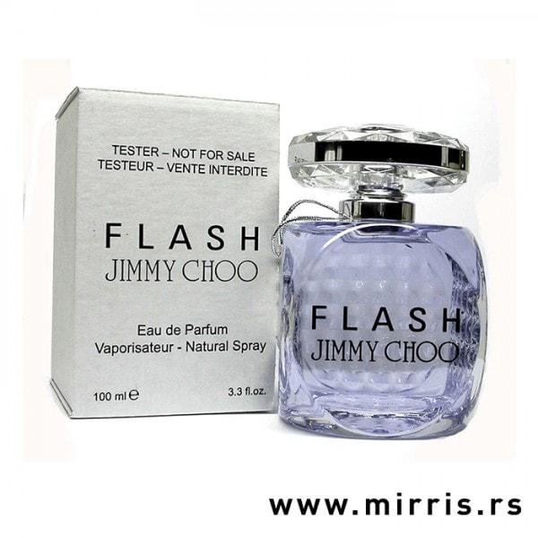 Bela kutija i boca testera Jimmy Choo Flash
