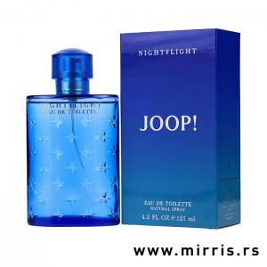 Bočica parfema Joop! Nightflight pored plave kutije